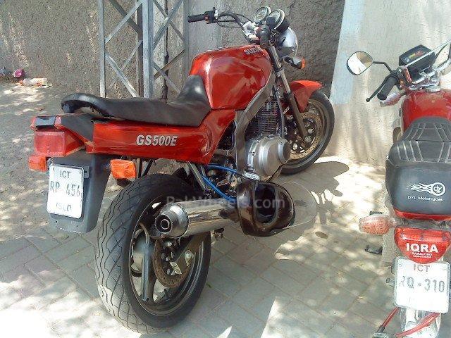 Bought Maroon GS500e Courtesy Imran Bhatti... - 72181