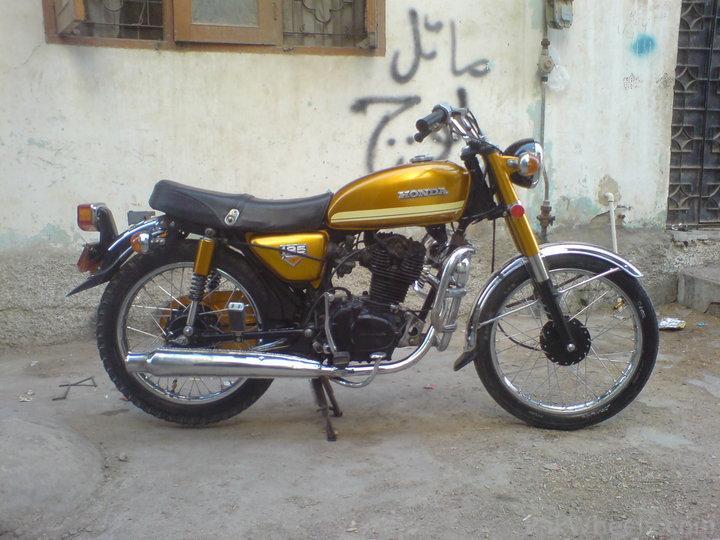Honda CD185 Twin - Restoration. - 218803