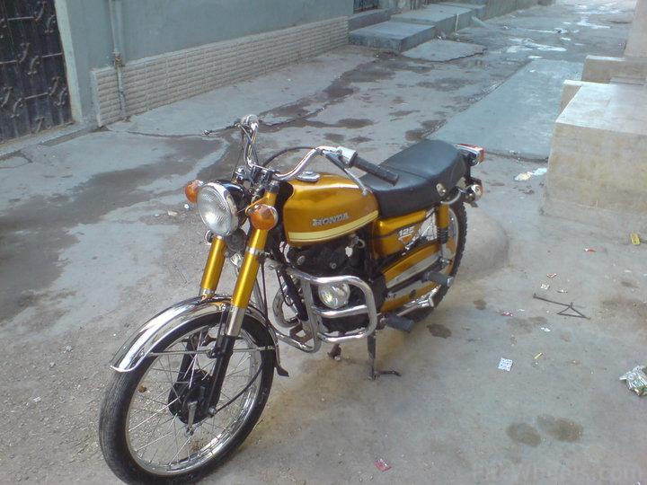Honda CD185 Twin - Restoration. - 218804