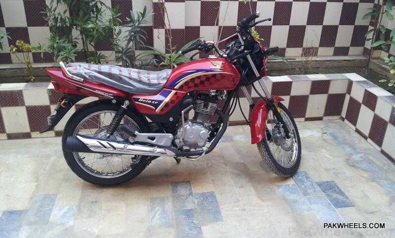 Honda CG125 Deluxe 2012 - 382809