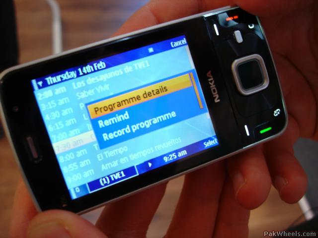Nokia N96 Dvb-H Hack