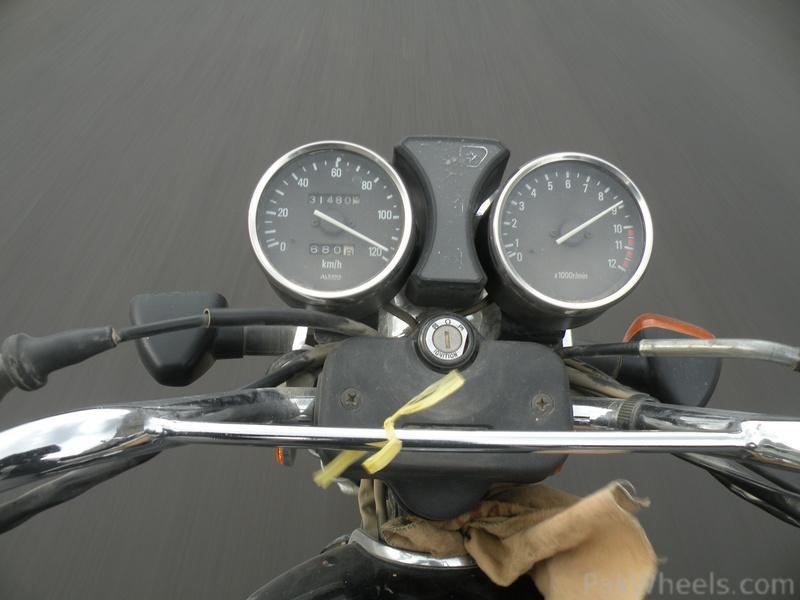 Suzuki GS150 top speed - 333930