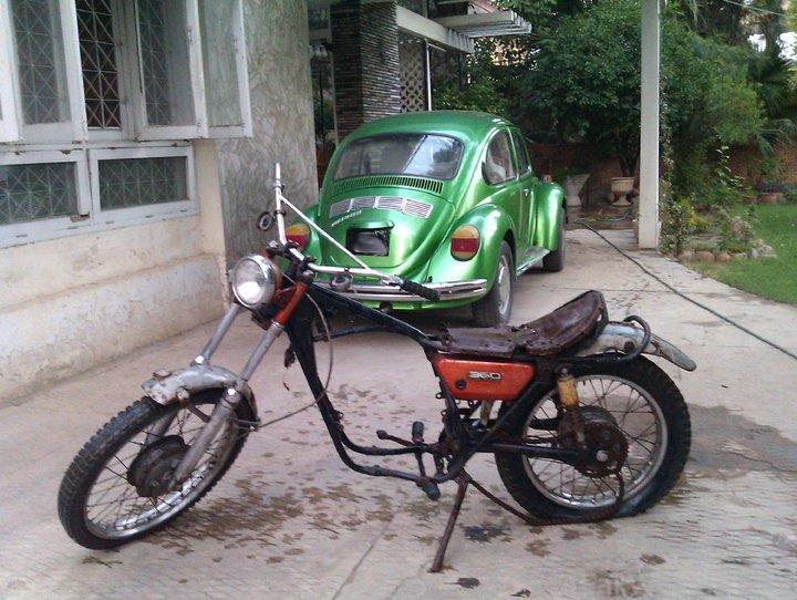 Yamaha RT1 1971  restoration project, parts needed.. - 254947