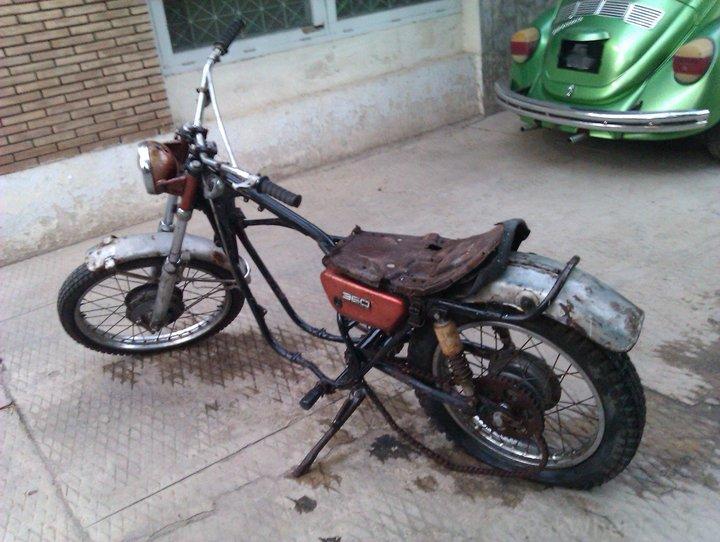 Yamaha RT1 1971  restoration project, parts needed.. - 254948