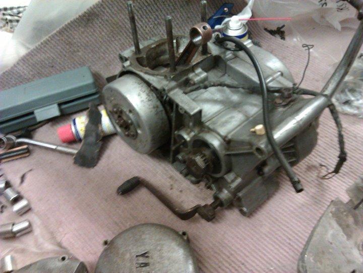 Yamaha RT1 1971  restoration project, parts needed.. - 254950