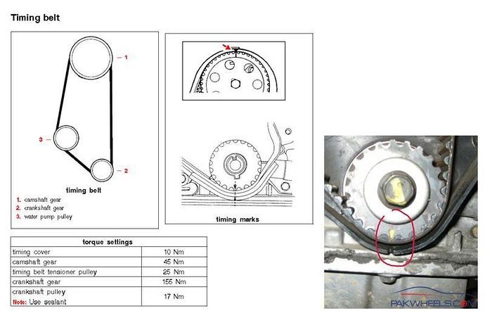 Daewoo Timing Belt | Wiring Diagram on