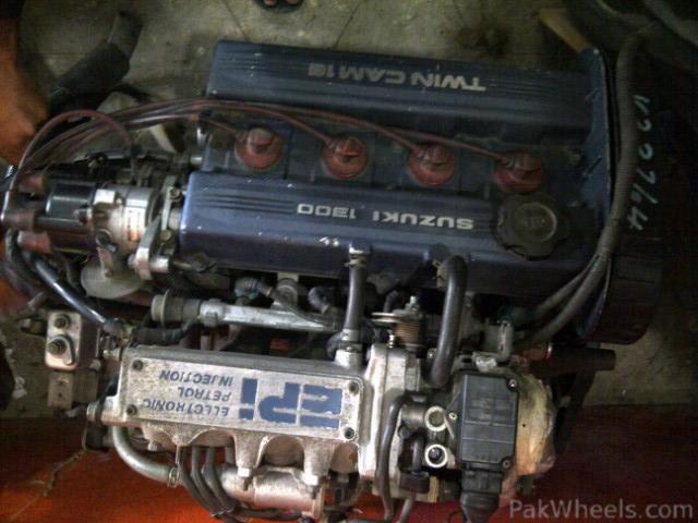 Suzuki Swift Engine