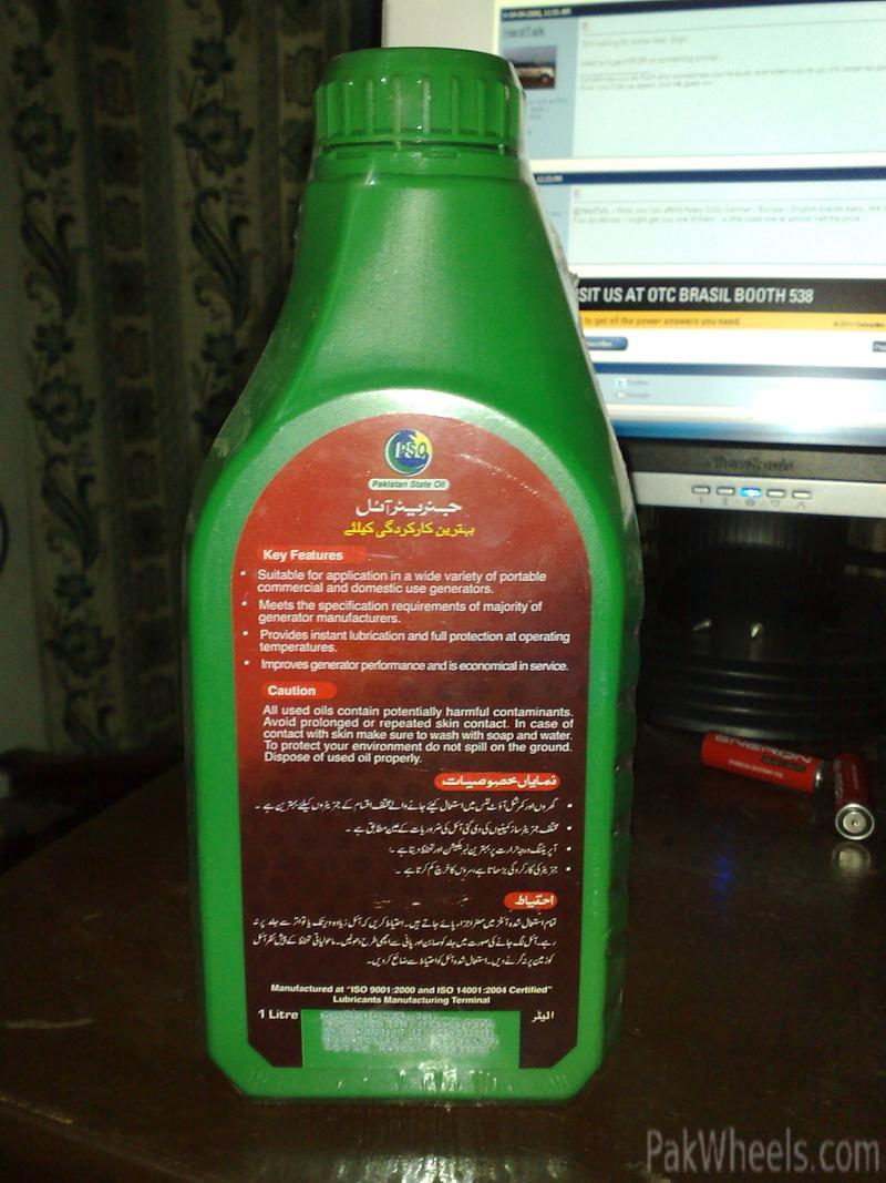 today bought engine oil for generator and for my bikecd70 - mechanical  electrical
