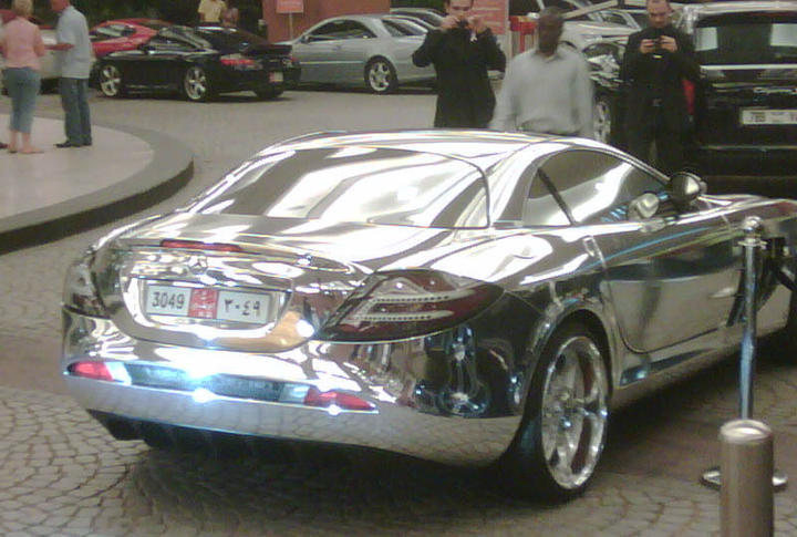 Gold Bmw X6 And A Slr In Chrome Vintage And Classic Cars