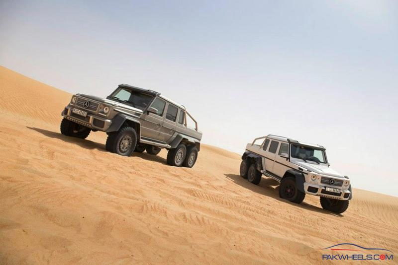 Mercedes G-63 AMG 6x6 Monster - General 4X4 Discussion