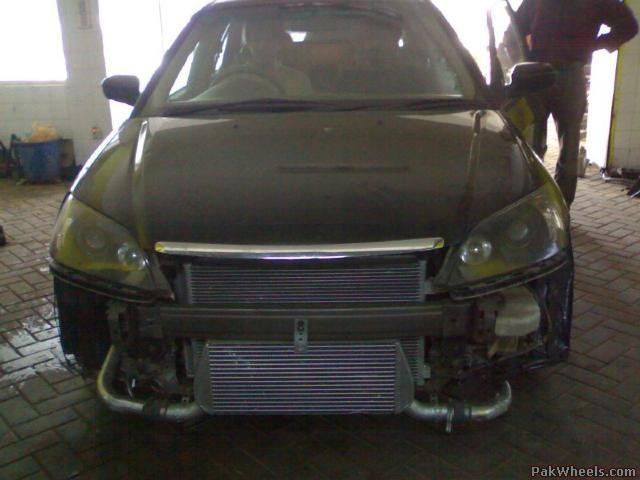 Turbo kit and greddy exhaust for sale - Cars - PakWheels Forums