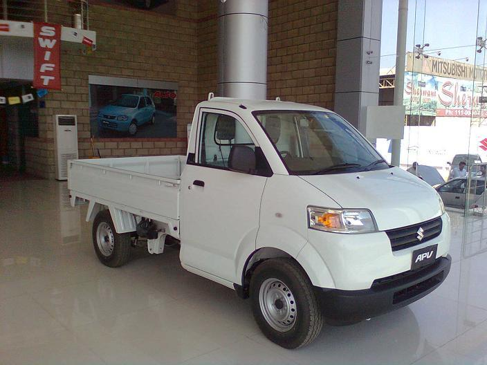Pics Suzuki Apv Pickup Truck Not Released Yet Vintage And Clic Cars Pakwheels Forums