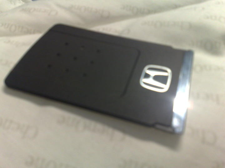 Accord cl9 key card accord pakwheels forums for Honda credit card