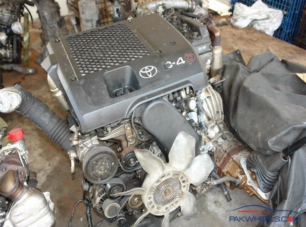 Prado  Vigo 1kd D4d Complete Engine With Mechanical For Sale - Car Parts