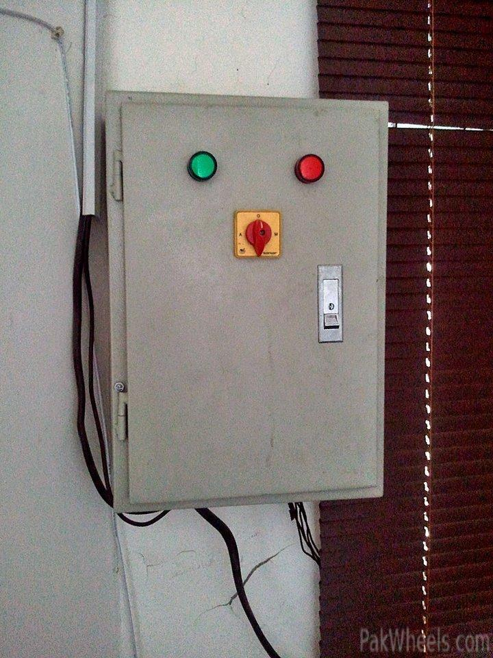 Fs  5kva Generator   Auto Gas Switching   Ats Panel