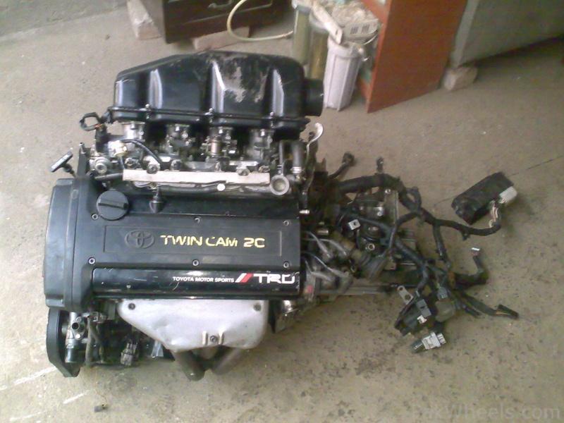 Fs  4age 4 Throttle Blacktop 20v Trd 7spd Lsd