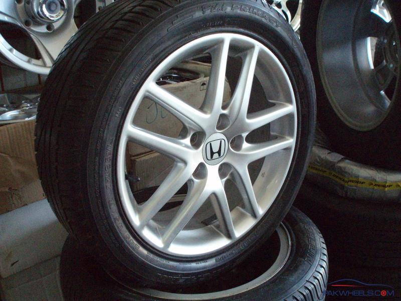 honda accord wheels alloy genuine cl 17inch tires pakwheels danish