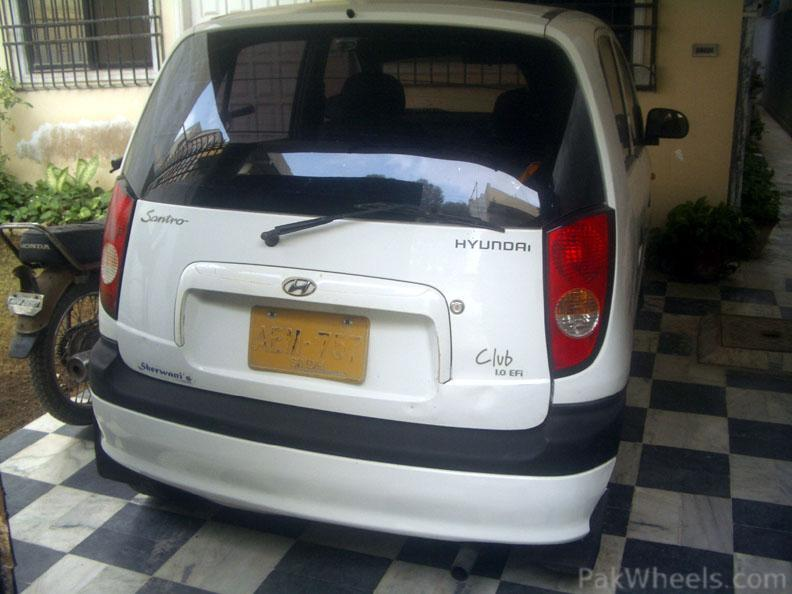 All Cars For Sale In Hyderabad Olx: Hyundai Santro Club 2003 For Sale In Karachi