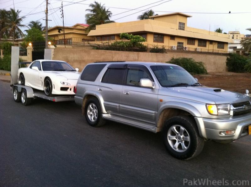 Toyota Surf And Car Hauler Trailer For Sale Cars Pakwheels Forums
