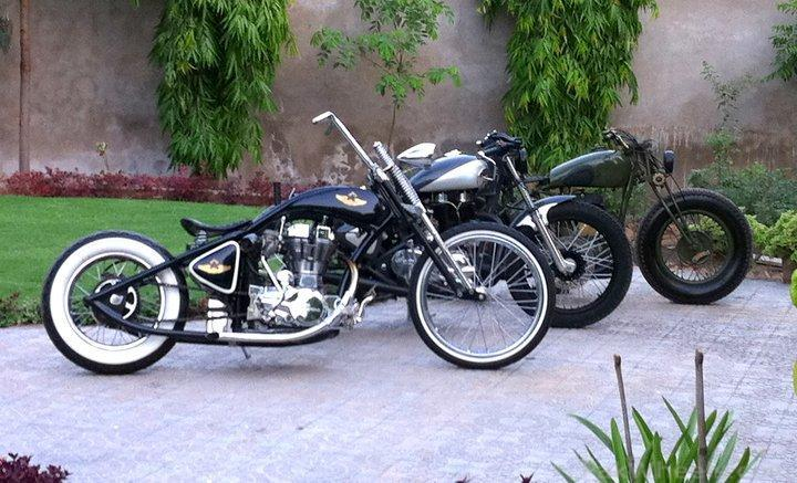 Rajputana Custom Motorcycles from India - Wheels Photography