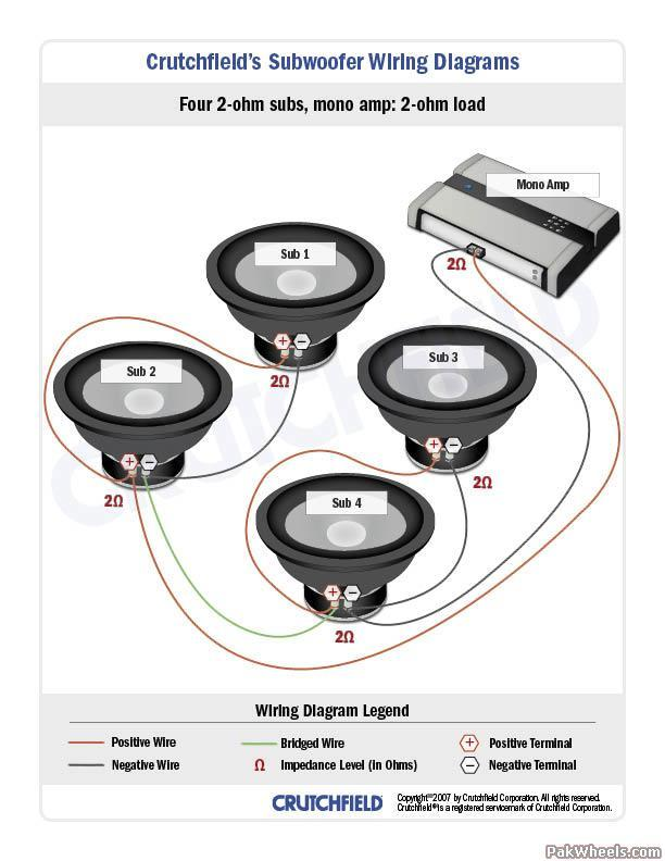 Subwoofer       Wiring       DiagramS    BIG 3 UPGRADE  InCar Entertainment  ICE   PakWheels Forums