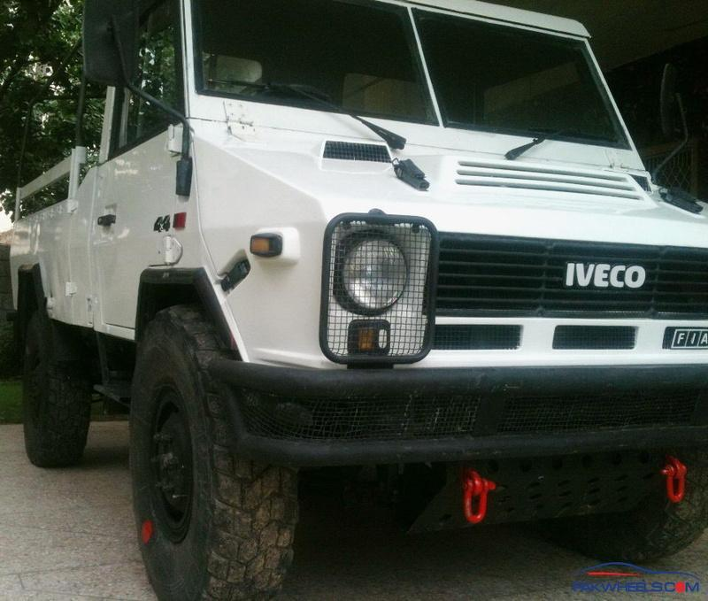 Diesel Truck For Sale >> 4X4 Pickup Truck, IVECO VM90 (LMV), 2.5L Turbo Diesel with ...