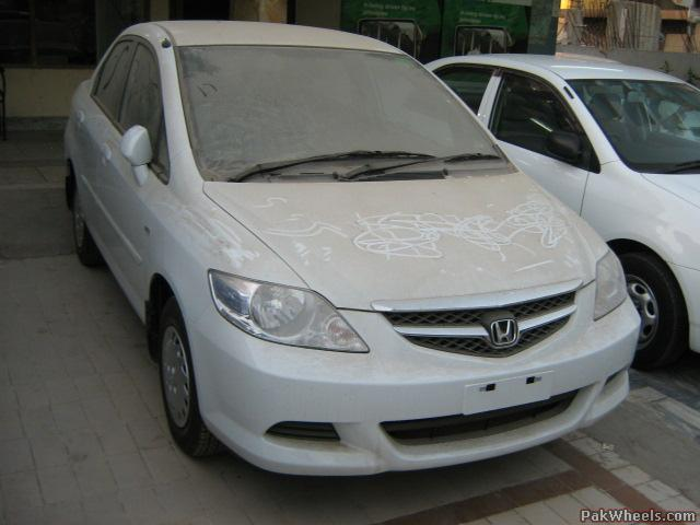 Make Honda Model City Year 2007 Colour White Engine 1300cc Fuel Type Petrol Transmission 5 Speed Manual Mileage O Meter Options Power Steering