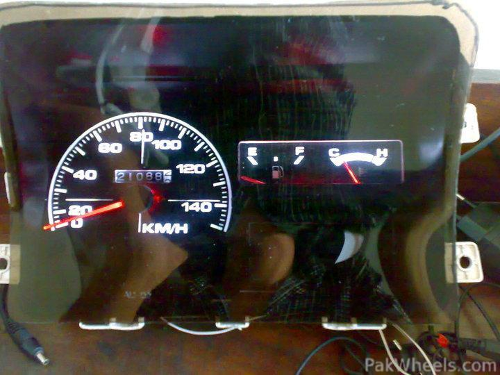In Sialkot where can I get this glowing meter of Mehran - Mehran