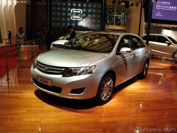 Zotye Z300 The Chinese Allion Vintage And Classic Cars