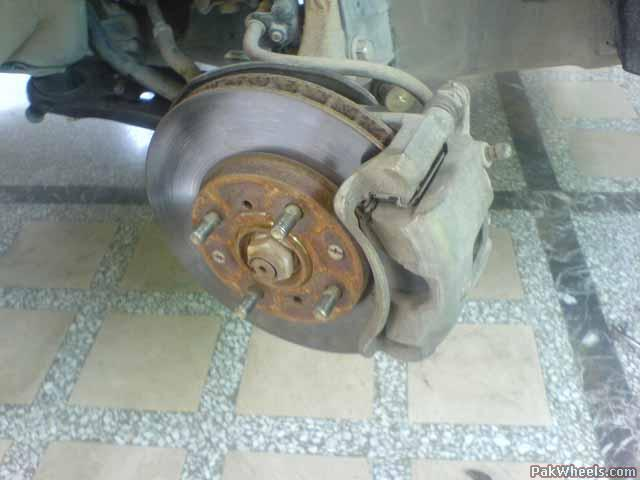 Diy Honda City Brake Inspection And Replacement Diy Projects