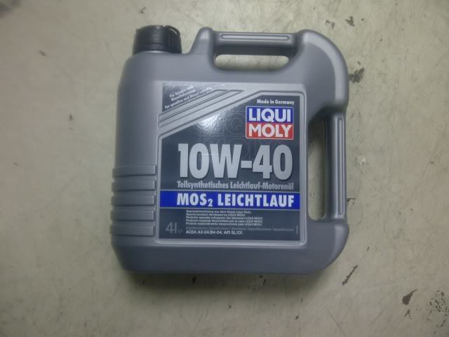 Liqui Moly Oil Changed First time - Mechanical/Electrical