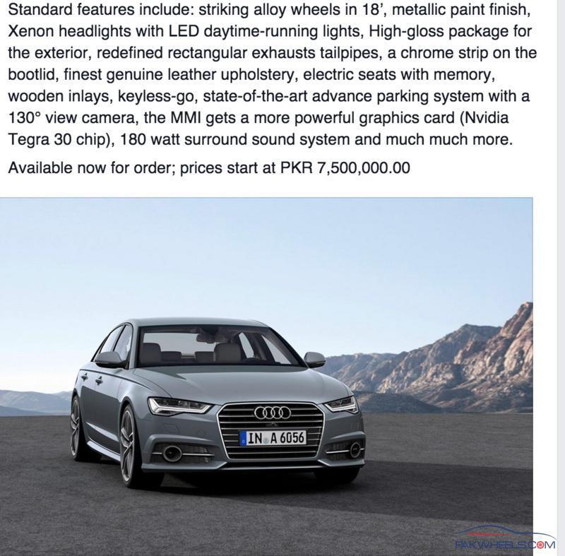 Audi A6 Gets A Price Cut A BIG ONE
