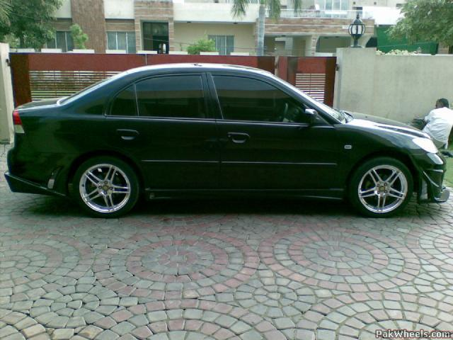 "2005 civic body kit and 17"" rims for sale - Civic - PakWheels Forums"