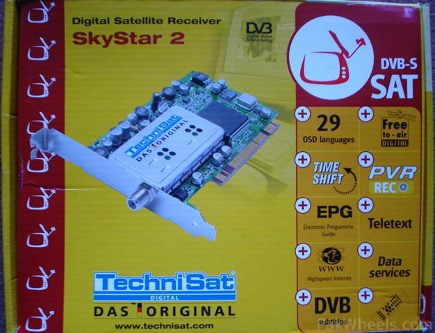 Настройка dvb карточки skystar 2, оператор tooway net, спутник yamal 202