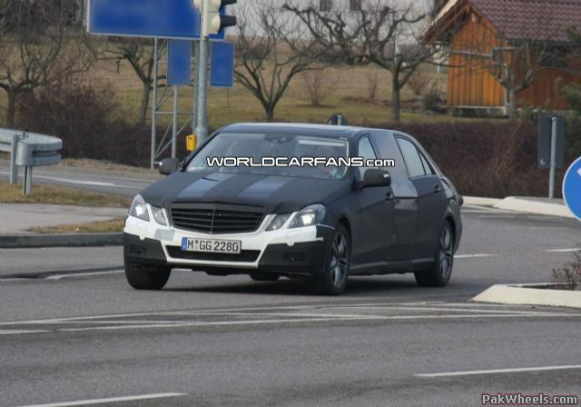 Mercedes E Class Stretch Limo First Spy Photos Vintage