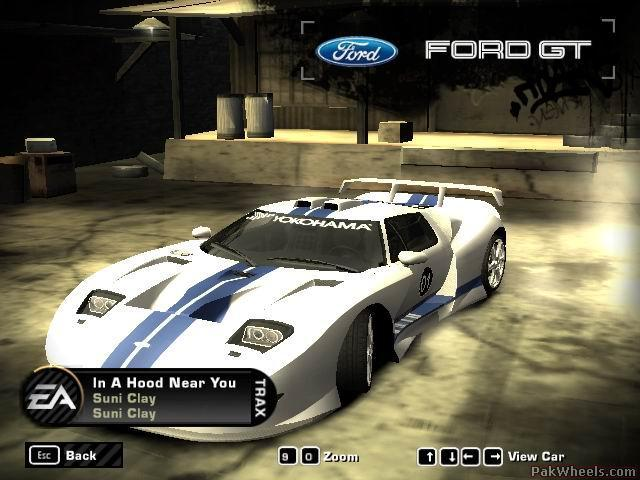 Two Ford Gt In Need For Speed Most Wanted Comments Plz