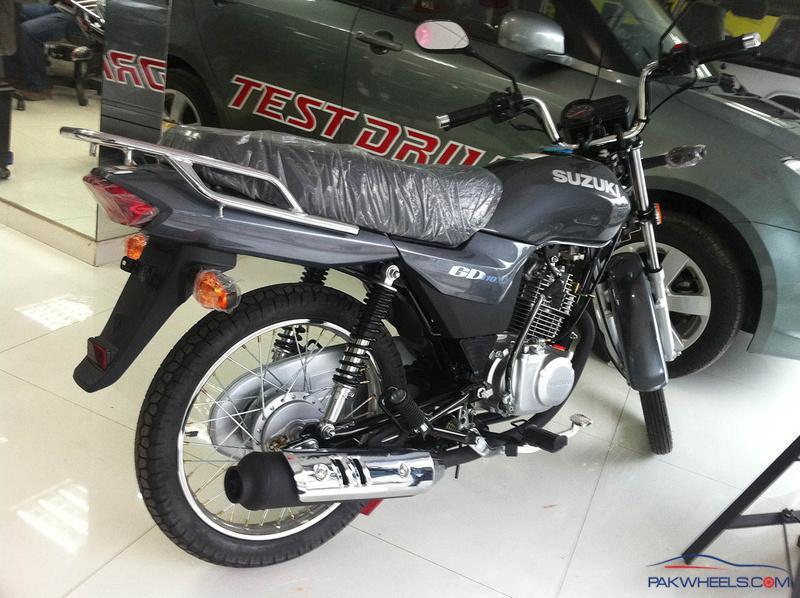 My New Ride: Suzuki GD110 - Suzuki Bikes - PakWheels Forums