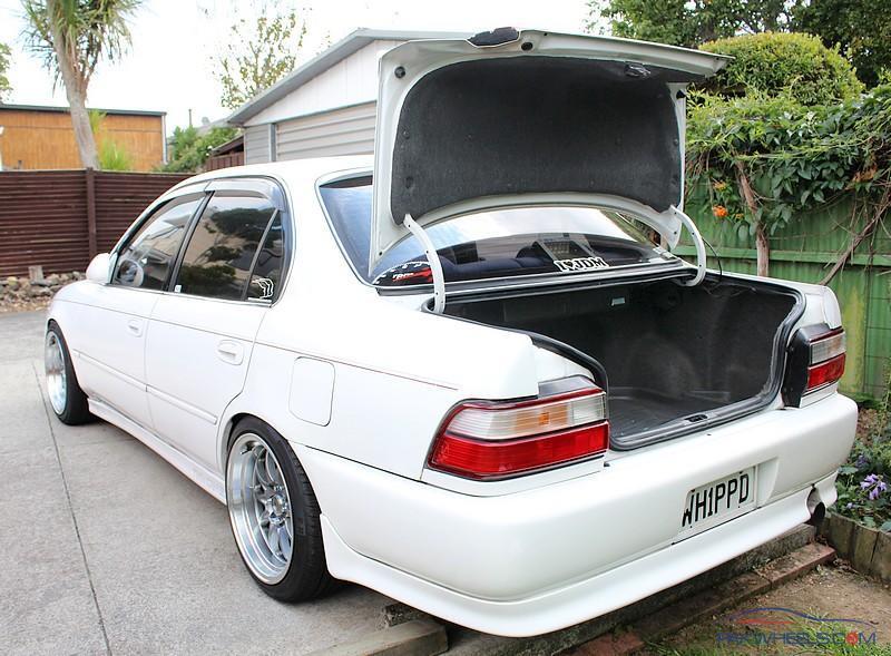 FS: Corolla AE101 USDM Carpeted Trunk Lid Liner - Car Parts - PakWheels  Forums