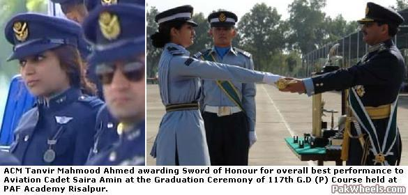 First Female Pilots - Pakistan Air Force - Non Wheels