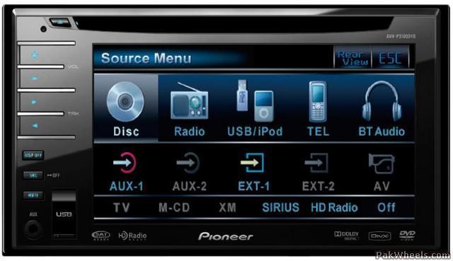 Pioneer Avh-p4100dvd Or Avh-p3100dvd