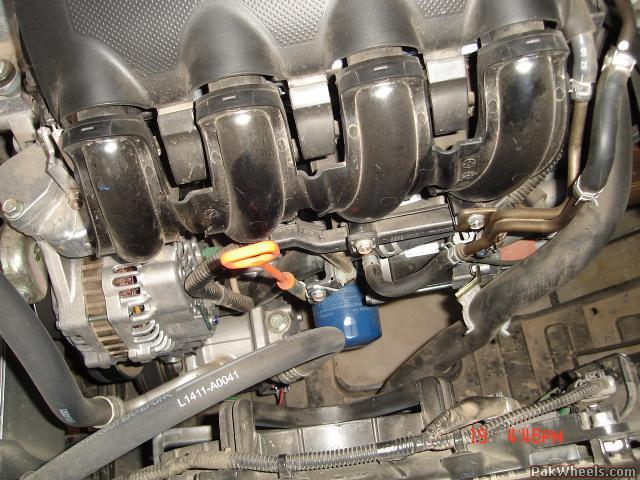 Honda City Idsi FF Air Cleaner and Oil Filter Pics - City ...