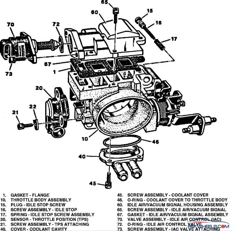 throttle body diagram   21 wiring diagram images