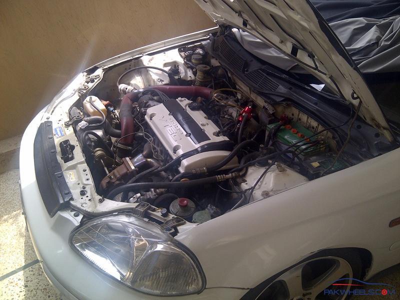 h22 turbo honda civic 97 - cars