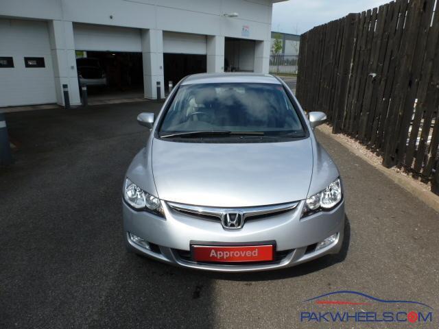 Honda Civic Hybrid 2007 Silver