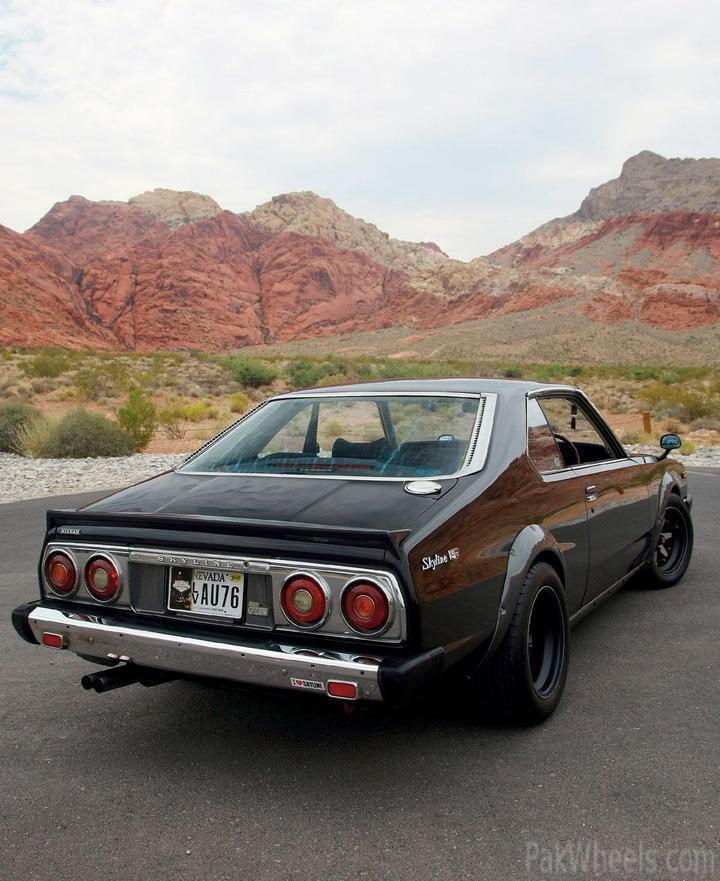 1977 Nissan Skyline 2000gt Ex Pure Japanese Muscle Modified
