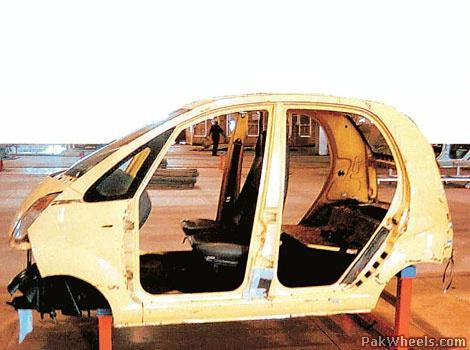 Tata Nano (First Photos in Assembly Line) - News/Articles