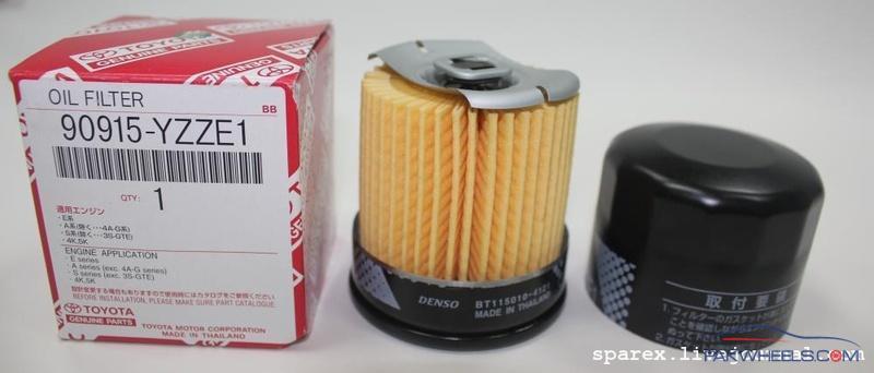 Genuine Toyota Oil Filter - Japanese vs Thailand made