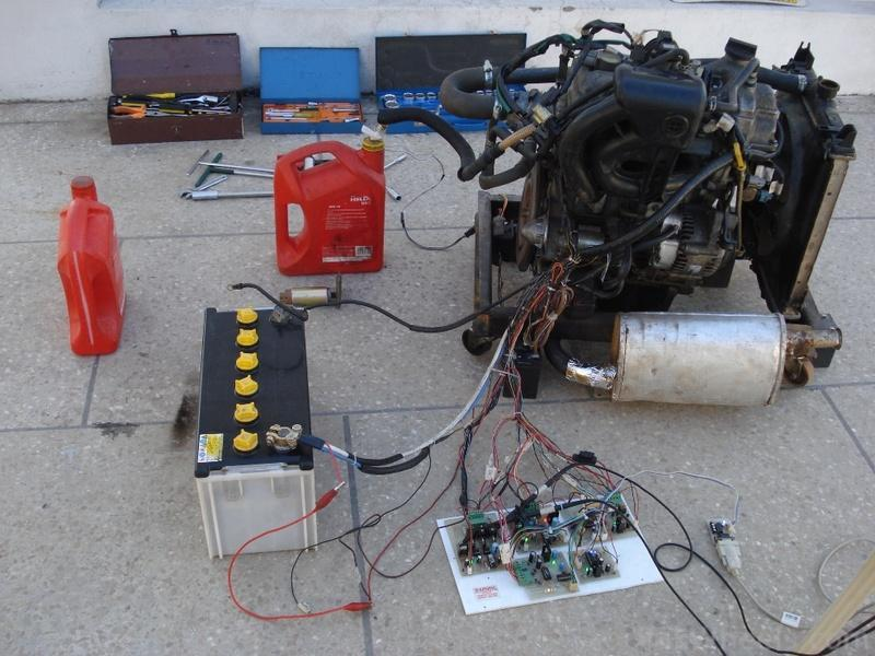 Engine Running Detector Load Switch
