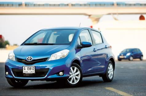 Vitz 2012 Launced in UAE - Vintage and Classic Cars