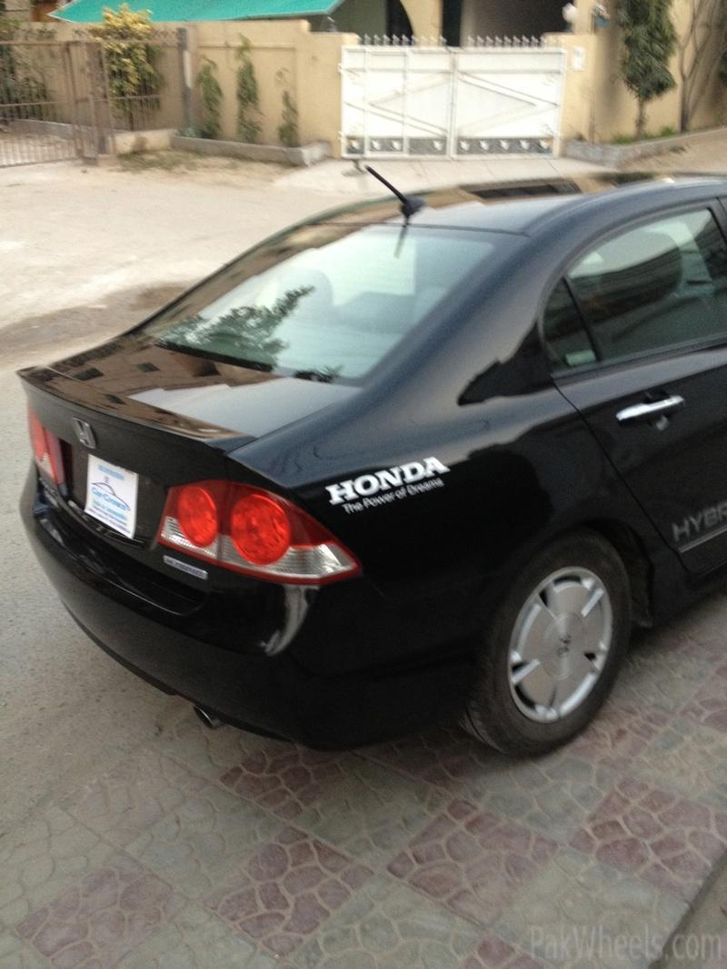 2012 Honda Civic For Sale >> Honda Civic reborn hybrid 2006 - Civic - PakWheels Forums